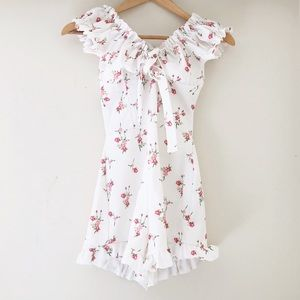Missguided Floral Romper